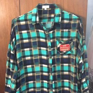 Patch work flannel